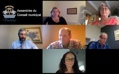 Assemblée du Conseil municipal de Verchères de juillet 2021