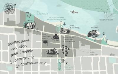 La population contrecœuroise invitée à imaginer l'aménagement de leur Ville!