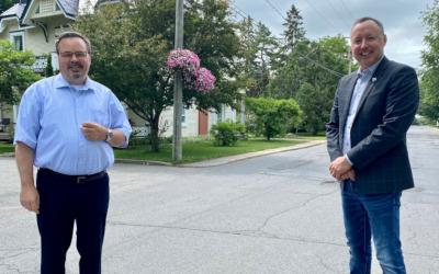 Le député Jean-Bernard Émond annonce plus de 1,75 M$ pour le réseau routier local de la municipalité de Massueville