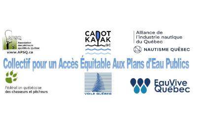 Courrier des lecteurs: pour un accès équitable aux plans d'eau publics