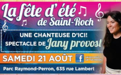 Le samedi 21 août prochain: la Fête d'été de Saint-Roch