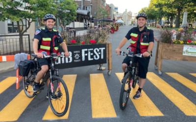 Des pompiers premiers répondants à vélo: un nouveau projet pilote cet été à Sorel-Tracy!