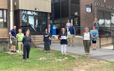 Bibliothèque municipale-scolaire Dansereau-Larose : bientôt une retraite bien méritée pour Mme Sylvie Bissonnette