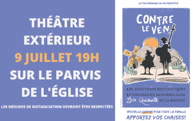 Verchères: théâtre extérieur le 9 juillet prochain