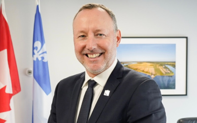 Le député Jean-Bernard Émond annonce l'octroi d'une subvention de 28 000 $ à la Maison La Source