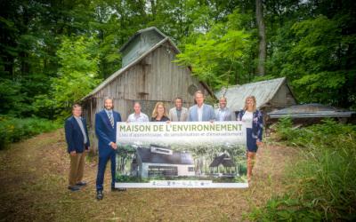 Maison de l'environnement: naissance d'un important projet écologique dans la MRC de Marguerite-D'Youville