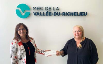 Lutte contre la violence faite aux femmes: la MRCVR verse 100 000 $ à la Maison Simonne-Monet-Chartrand et presse le gouvernement du Québec à agir