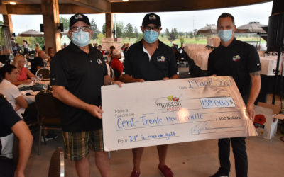 Un retour en force pour la 24e édition du tournoi de golf de Moisson Rive-Sud