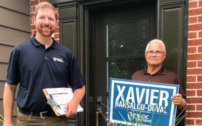 Pierre-Boucher–Les Patriotes–Verchères: Xavier Barsalou-Duval appelle à voter pour le Québec