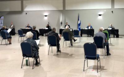 Assemblée du Conseil municipal de Verchères d'octobre 2021