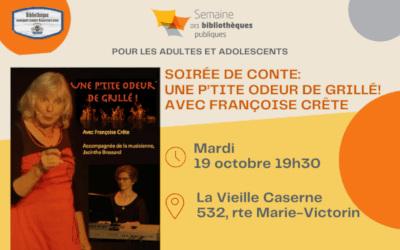 Bibliothèque de Verchères: Soirée de conte