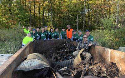 Colonie des Grèves de Contrecoeur: PurNat et Cascades organisent un événement de nettoyage