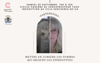Journées de la Culture à Verchères: Forteresses | 25 septembre