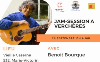 Journées de la Culture à Verchères: Jam-Session | 26 septembre