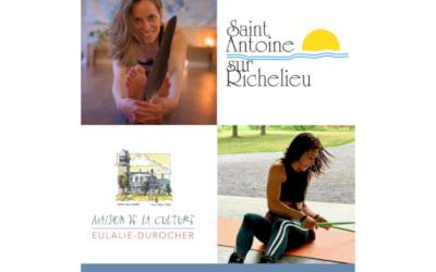 Municipalité de Saint-Antoine-sur-Richelieu: programmation loisirs automne 2021