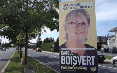 Parti Libre Canada: « Ce que nous vous proposons » -Carole Boisvert