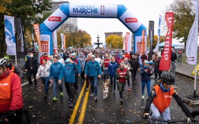 Grand défi Pierre Lavoie: plus de 132 241 marcheurs ont participé aux grandes retrouvailles ce week-end