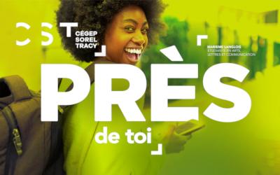 Le Cégep de Sorel-Tracy revampe sa campagne « PRÈS »