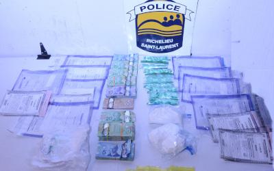 Trafic de stupéfiants: arrestation de deux hommes