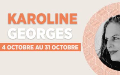 Dernière résidence Instagram: découvrez l'artiste Karoline Georges